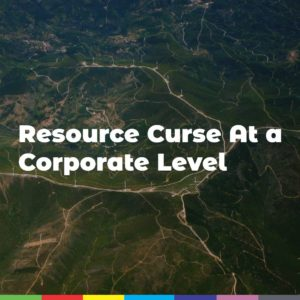 Resource Curse At a Corporate Level