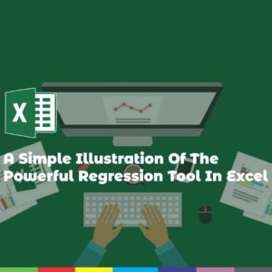 A Simple Illustration Of The Powerful Regression Tool In Excel