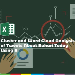 Cluster and Word Cloud Analysis of Tweets About Buhari Today Using R